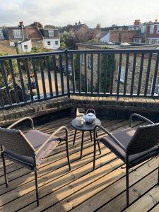 Terrace off the top floor bedroom