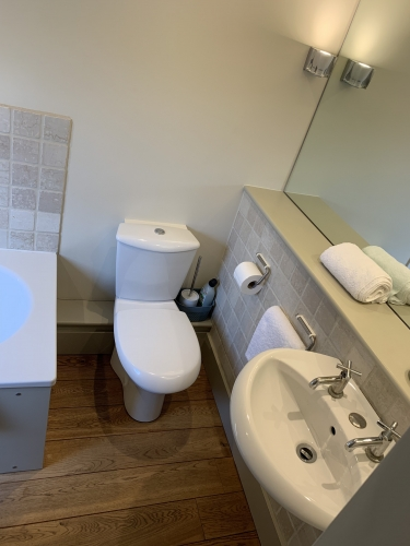 Top floor bathroom