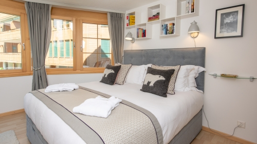 The Bedroom furnished to make you feel at home