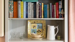 We want you to feel as though you are staying with friends - complete with cookery books!
