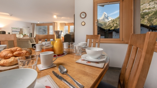 Best view in Zermatt from your vacation home window