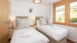 Bedroom 2 can be a twin or a king sized double and there is room for a camp bed if needed