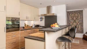 Our kitchens are very well equipped if you want to cook at home